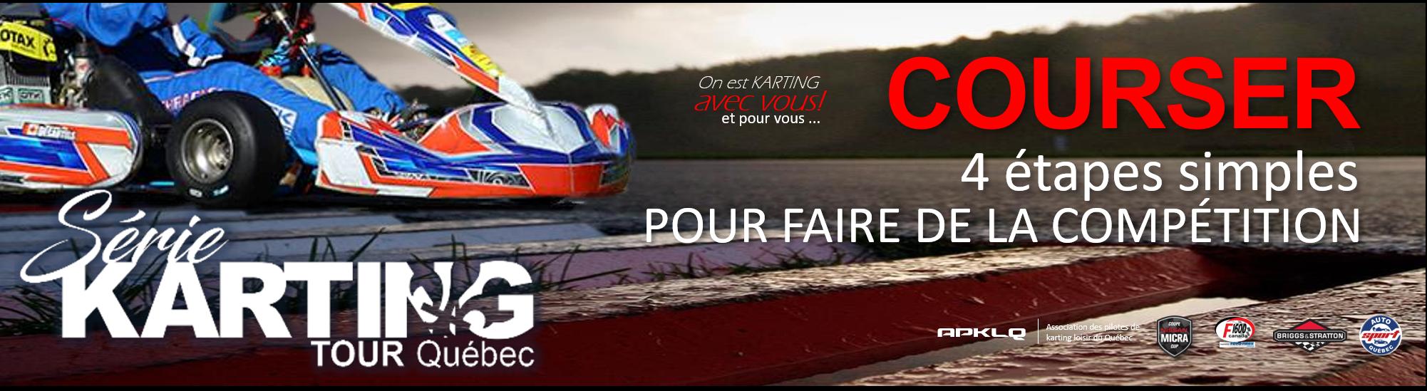 4 étapes simples pour compétitionner en karting
