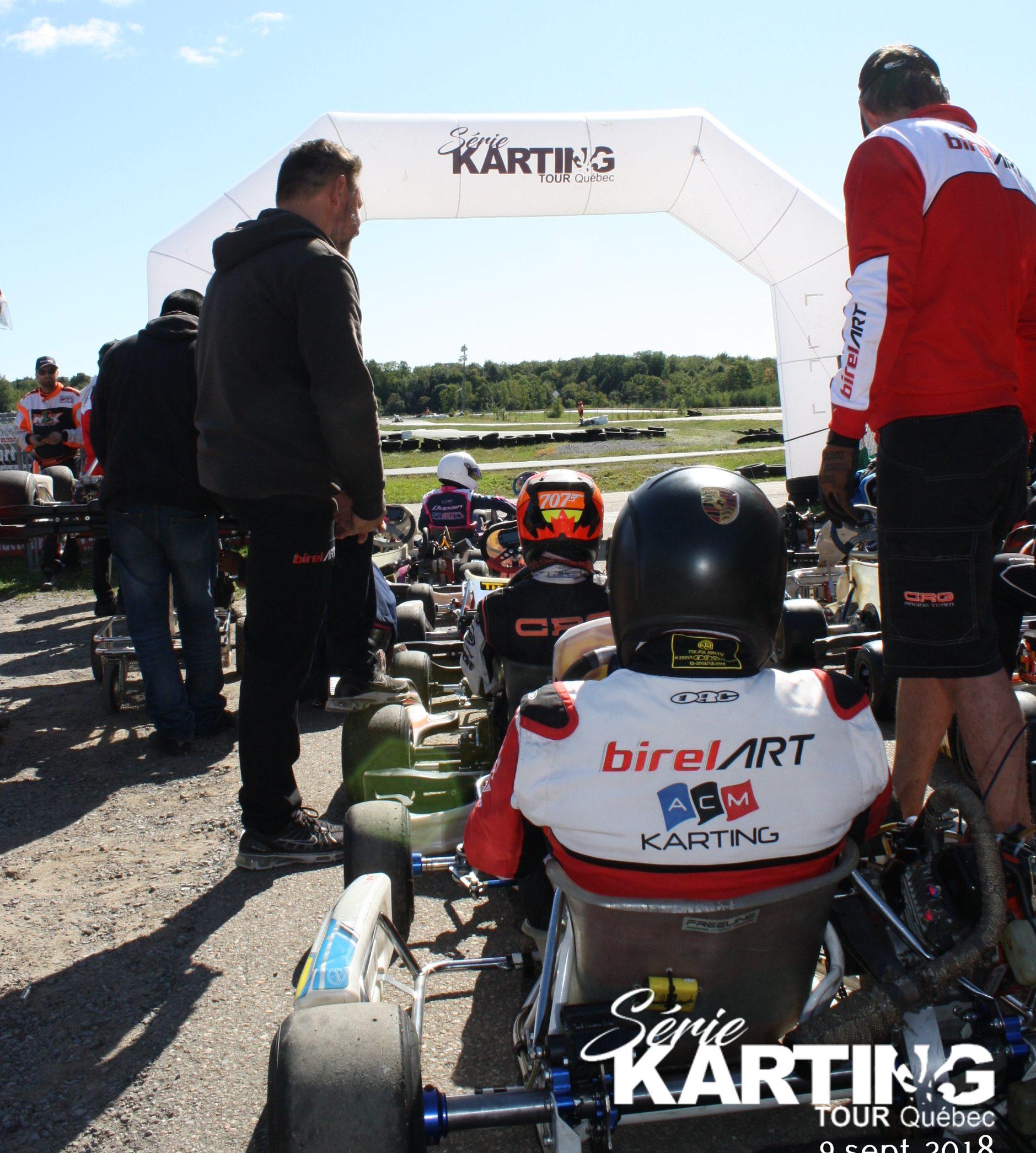 Compétitivité, soleil et bonne humeur dans les paddocks de la SKTQ!