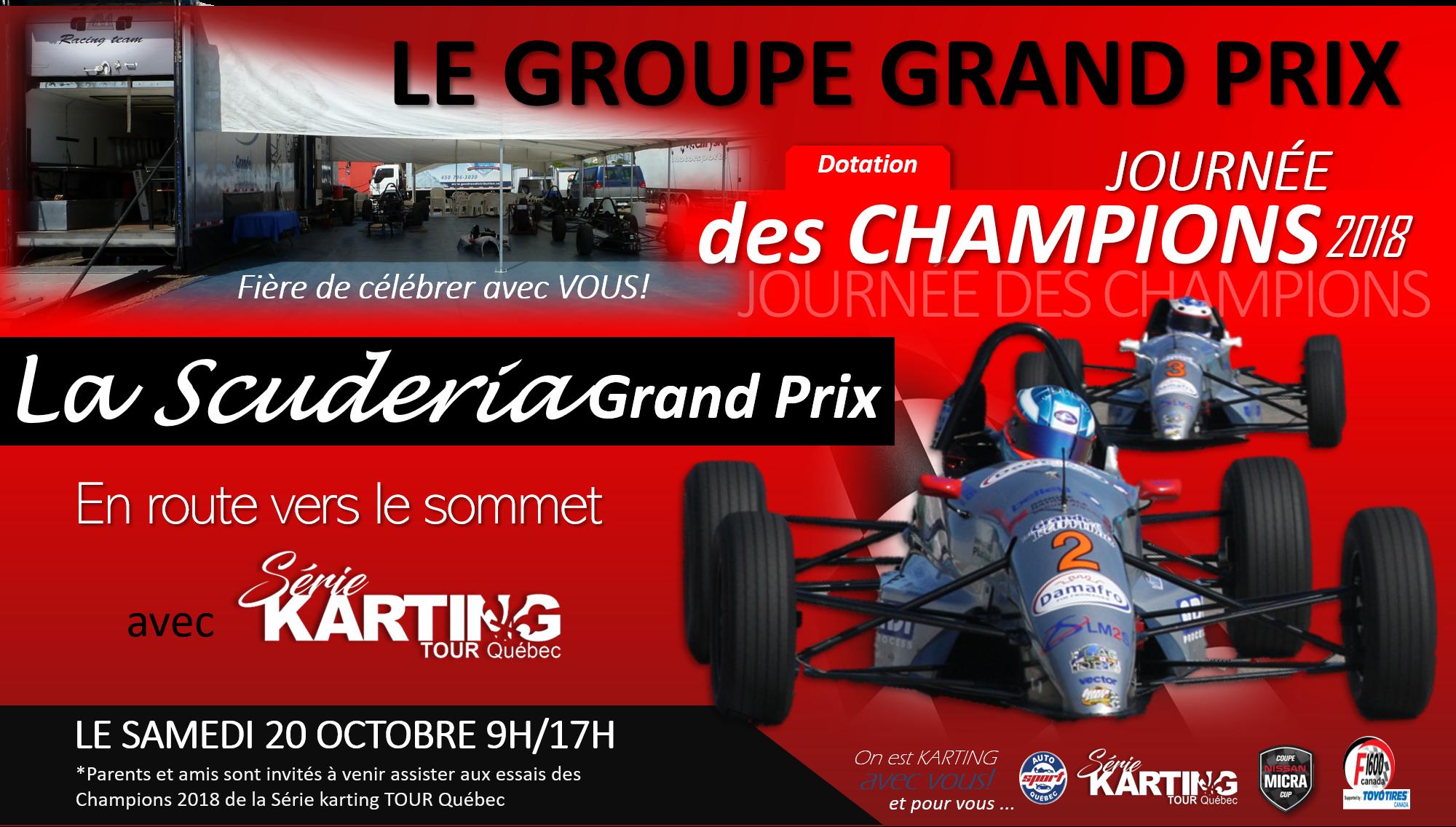 Communiqué de la Série karting TOUR Québec