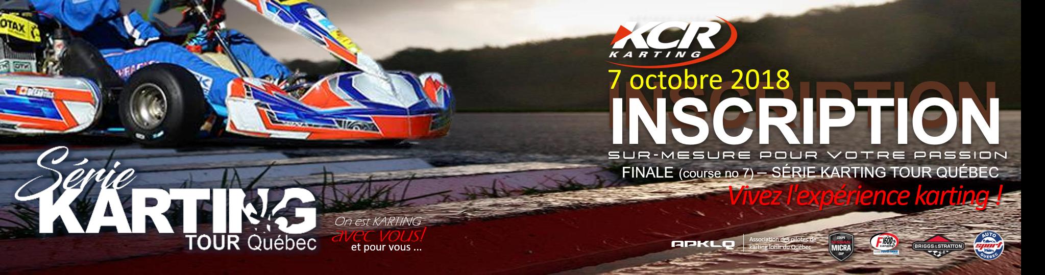La  finale de la Série karting TOUR Québec en fin de semaine!