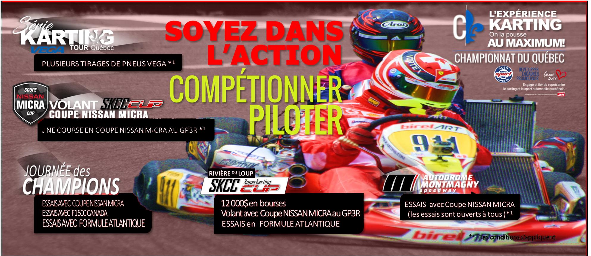 Saison de karting de compétition 2019